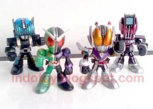 Jual Kamen Rider Chibi Combine