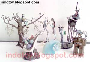 Jual Nightmare Before Christmast Mini Diorama