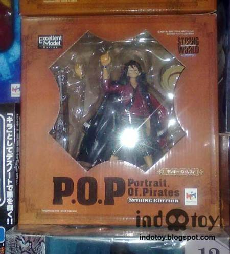 Jual Action Figure One Piece POP StrongWorld - Luffy