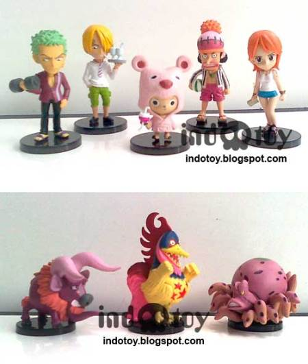 jual action figure One Piece Strong World Chibi Figure seri 6