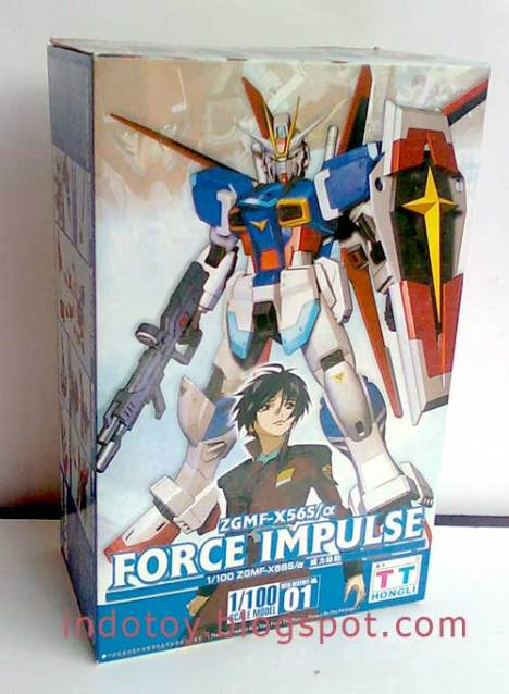 Jual Gundam Model Kit Force Impulse 1/100