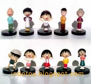 Jual Maruko Chan Mini Figure