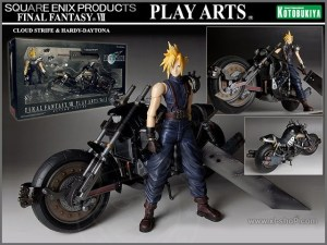 Jual Cloud Strife & Hardy Daytona Action Figure