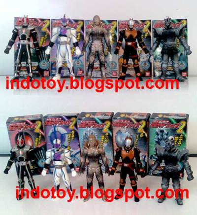 Jual Kamen Rider Figure  isi 5