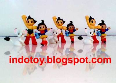 Jual Mini Astroboy Figure isi 9