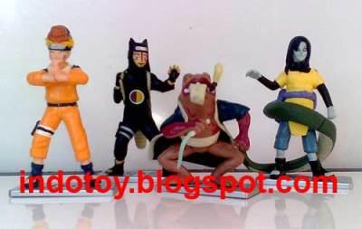 Jual Naruto 4.17 Action Figure