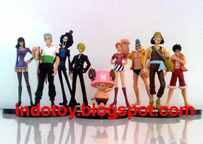 Jual One Piece King of Pirate Crew Action Figure