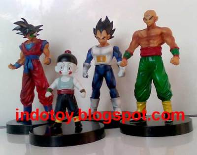 Jual Dragon Ball Z seri 7 action figure