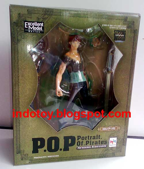 Jual P.O.P Strong World Roronoa Zorro seri 1