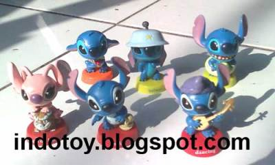 Jual Lilo Stich Collection Figure