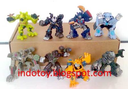 Jual Transformer Movie Figure isi 8