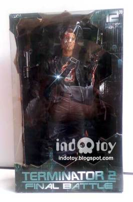 Jual NECA Terminator 12 inch : Final Battle Action Figure