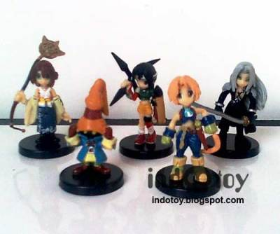 Jual Final Fantasy Chibi Figure