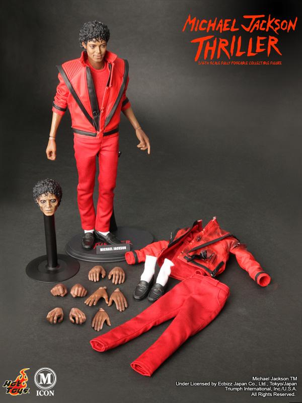 Jual Hot Toys Michael Jackson Thriller Figure BZE9Hol9