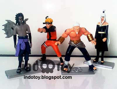 Jual Naruto 4.18 Action Figure
