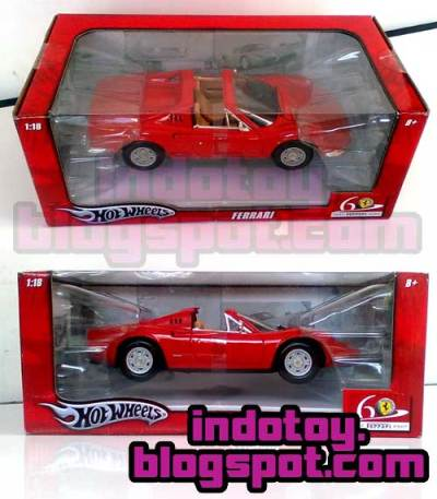 Jual Hot Wheels Red Ferari Comfortable