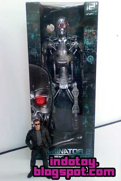 Jual Terminator 2 Edoskleton 18 inch Light Up Eyes Action Figure