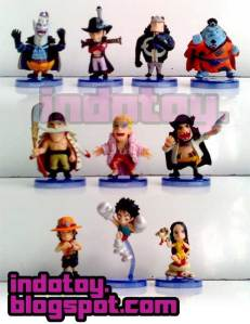 Jual One Piece Mini Shicibukai  Figure