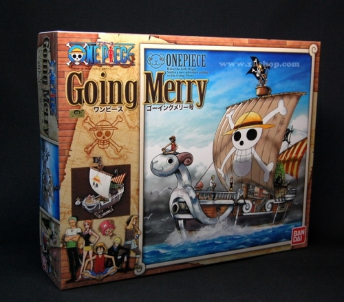 Jual One Piece Going Merry Model Kit DX : Bandai