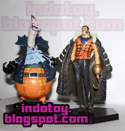 Jual One Piece Seven Warlords of the Sea #2 (KW) Gecko Moria san Crocodile