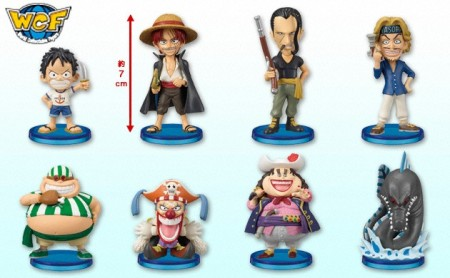 Jual One Piece WCF - World Collectable Figures : seri 6