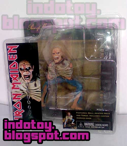 Jual Iron Maiden : Piece of Mind Action Figure