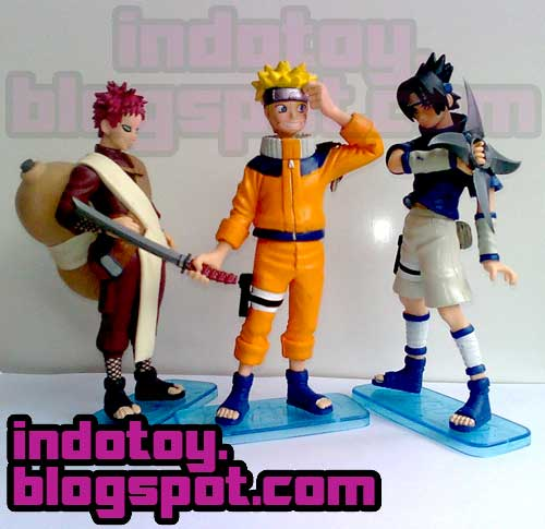 Jual Naruto Big isi 3 Figure