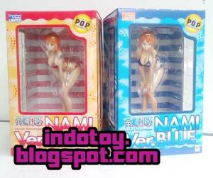 Jual POP Nami Limited version Blue Version Bikini one Piece Figure