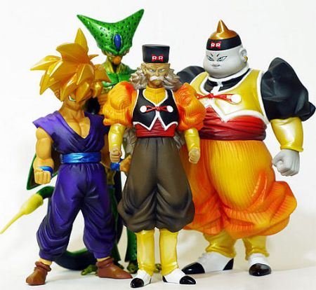 Jual Dragon Ball Z seri 10 atau High-Spec Coloring Figure Vol. 15 (Kai Series 6)