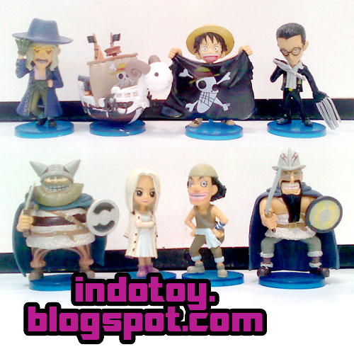 Jual One Piece WCF seri 9, ( Worlds Collection Figure)