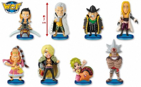 Jual One Piece WCF seri 8  - World Collectable Figures : seri 8