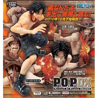 One Piece POP DX Marine Ford Figure : Portagas D'Ace