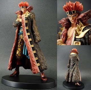 Eustass Captain Kid Figure : One Piece  The Grandline Men vol 7