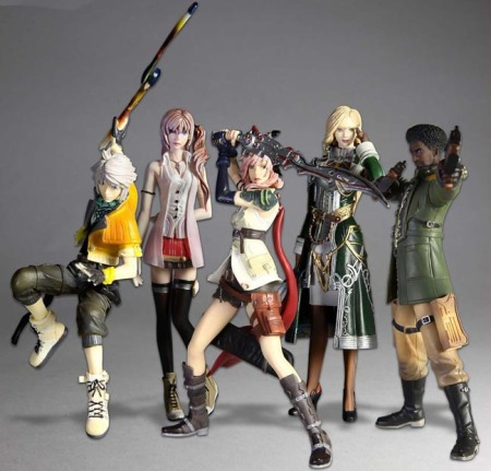 Jual Figure Final Fantasy XIII Trading Arts