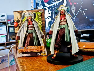 Jual Captain Buggy Figure : One Piece The Grandline Men vol. 7 indotoy