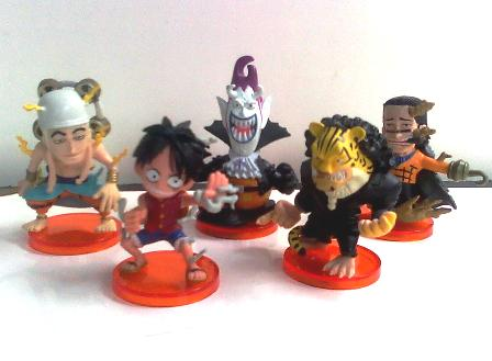 Jual One Piece : Luffy and His Opponent Chibi
