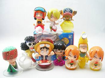 Jual One Piece Strong World  Fruit Party Petit Chara Land Ser. Trading Figure