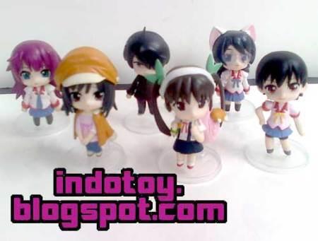 Jual Bakemonogatari Nendoroid Petite isi 6 Action Figure