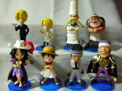 Jual One Piece World Collectible Figure (WCF) seri 10