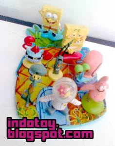 Jual SpongeBob Squarepant Banana House Action Figure