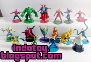Jual Marvel Heroes Mini Figure