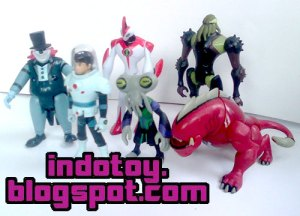 Jual Ben10 Alien Force isi 10 Figure