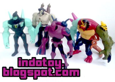 Toko online Jual Ben10 Alien Force isi 10 action Figure