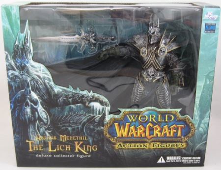 Jual World of Warcraft (WOW) Arthas Menethil The Lich King Action Figure indotoy toko online