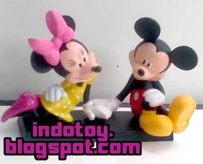 Jual Mickey Mouse - Mini Mouse Couple Disney Figure