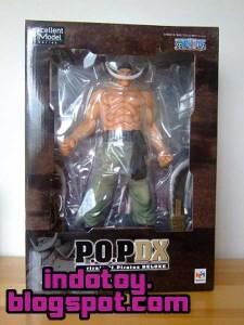 Jual One Piece POP Edward Newgate Action Figure