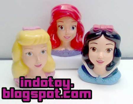Jual Princess Head Figure