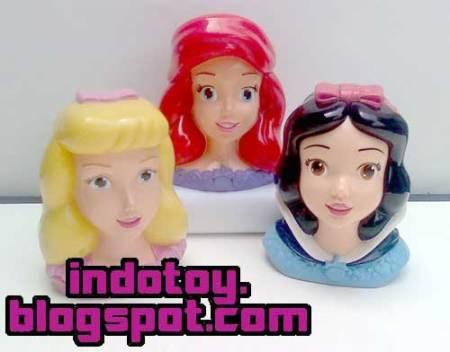 Jual Princess Head Figure