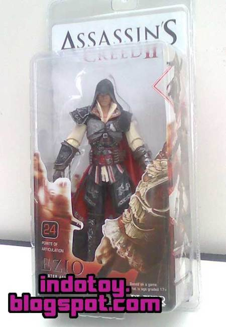 Jual Asassin Creed II Ezio Action Figure indotoy toko online