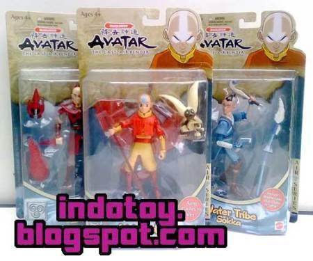 Jual Avatar Last Air Bender Action Figure : Aang